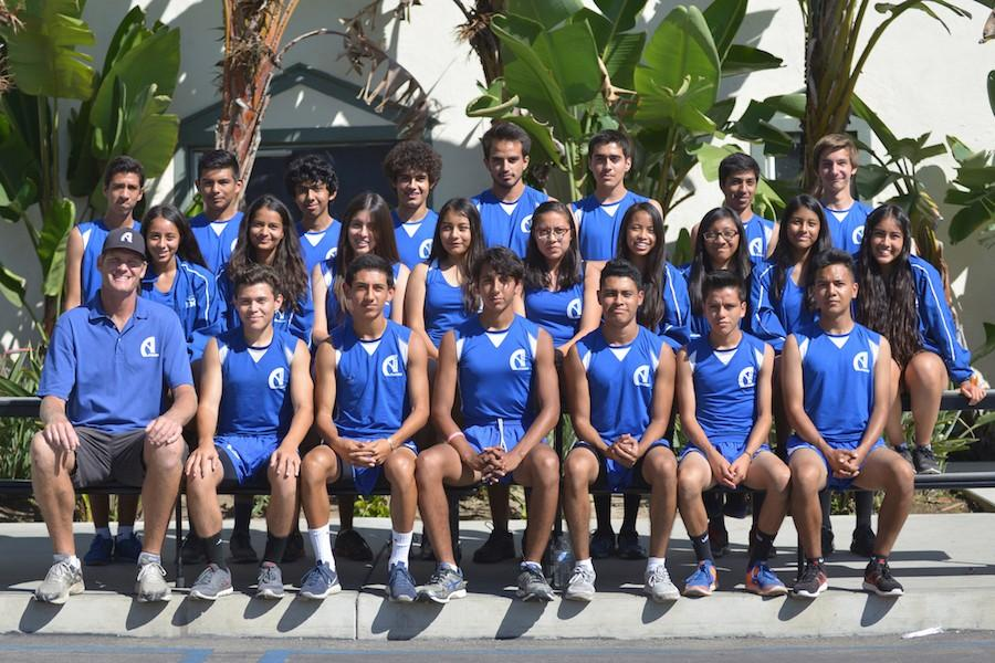 2015-2016 Cross Country Team. Photo by Suzanne Launius.
