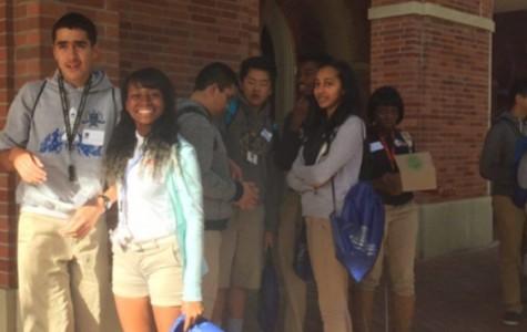Young Entrepreneurs Visit USC and Downtown LA
