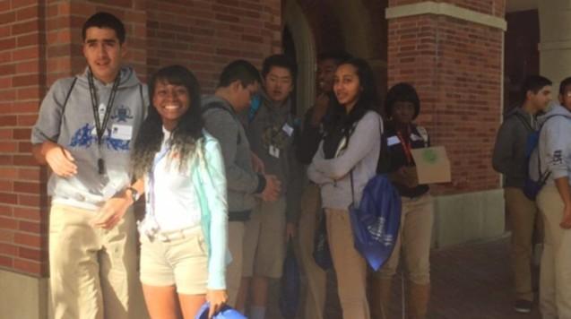 Entrepreneurship students at USC.