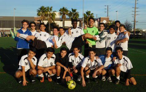 Boys Soccer Team Soars Once Again