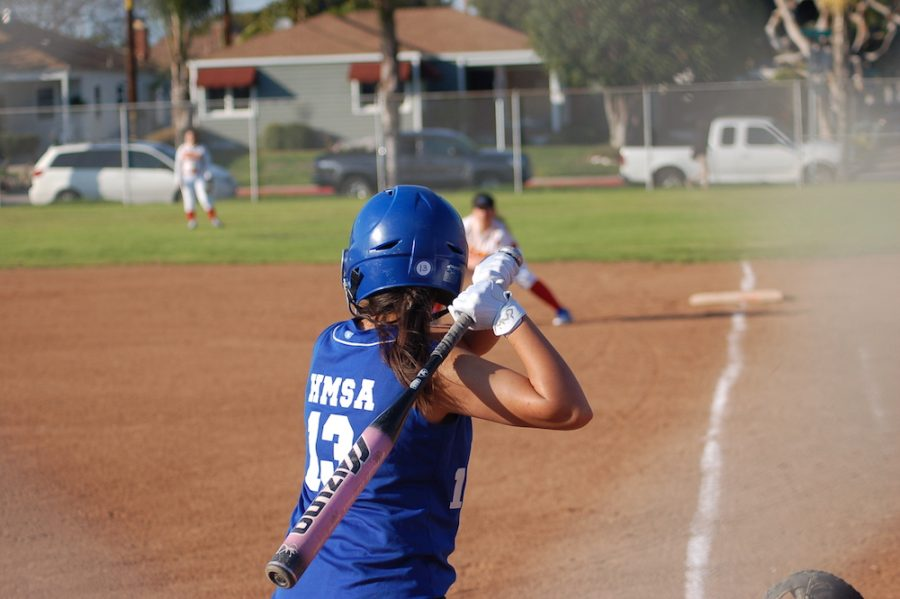 Lady As play at the Hawthorne Highschool field.