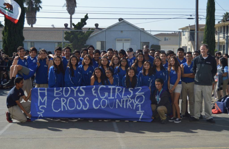 Cross Country celebrating their successful year!