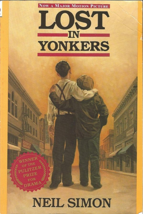 """Lost in Yonkers"" Book Cover. Photo taken by Valeria Gomez"