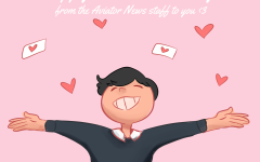 Happy Valentine's Day from the Aviator News staff to you! <3
